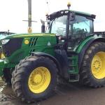John Deere 6190R 162 kW / 220 KM