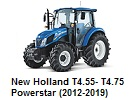 New Holland T4.55- T4.75 Powerstar (2012-2019)