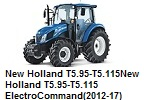 New Holland T5.95-T5.115/New Holland T5.95-T5.115 ElectroCommand(2012-17)