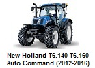 New Holland T6.140-T6.160 Auto Command (2012-2016)