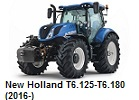 New Holland T6.125-T6.180 (2016-)
