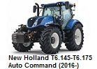 New Holland T6.145-T6.175 Auto Command (2016-)