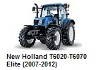 New Holland T6020-T6070 Elite (2007-2012)