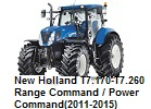 New Holland T7.170-T7.260 Range Command / Power Command(2011-2015)