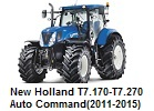 New Holland T7.170-T7.270 Auto Command(2011-2015)