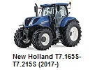 New Holland T7.165S-T7.215S (2017-)