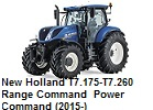 New Holland T7.175-T7.260 Range Command / Power Command (2015-)
