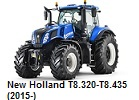 New Holland T8.320-T8.435 (2015-)