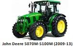 John Deere 5070M-5100M (2008-2013)