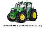 John Deere 6110R-6155R (2016-)