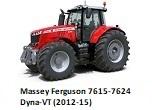 Massey Ferguson 7615-7624 Dyna-VT (2012-15)