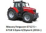 Massey Ferguson 6712 S – 6718 S Dyna-4/Dyna-6 (2016-)