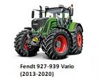 Fendt 927-939 Vario (2013-2020)