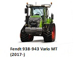 Fendt 938-943 Vario MT (2017-)
