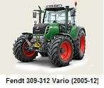 Fendt 309-312 Vario (2005-2012)