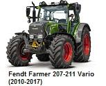 Fendt Farmer 207-211 Vario (2010-2017)