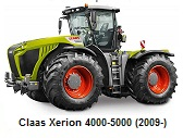 Claas Xerion 4000-5000 (2009-)