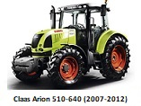Claas Arion 510-640 (2007-2012)